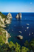 Die Faraglioni von Capri