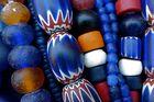 Die Farbe Blau: Glasperlen