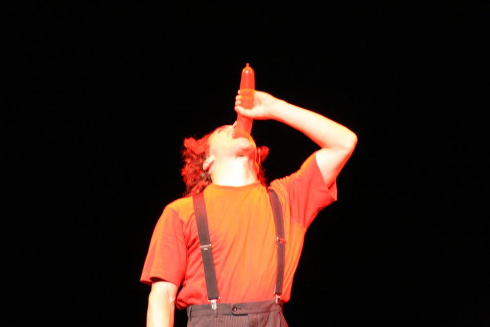 Die Farbe Rot - Gauklerfest Koblenz 2007