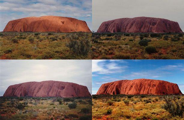 Die Farben des Uluru, Australien