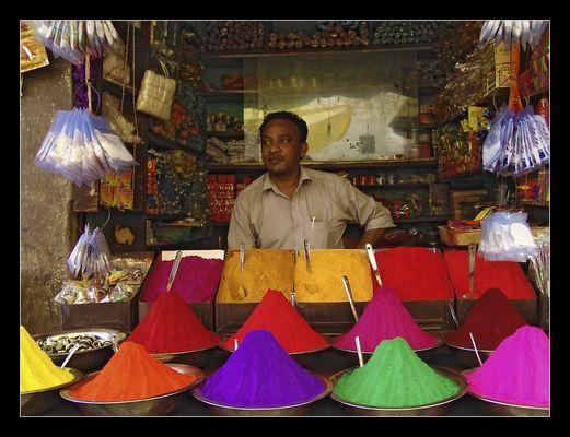 Die Farben Indiens...