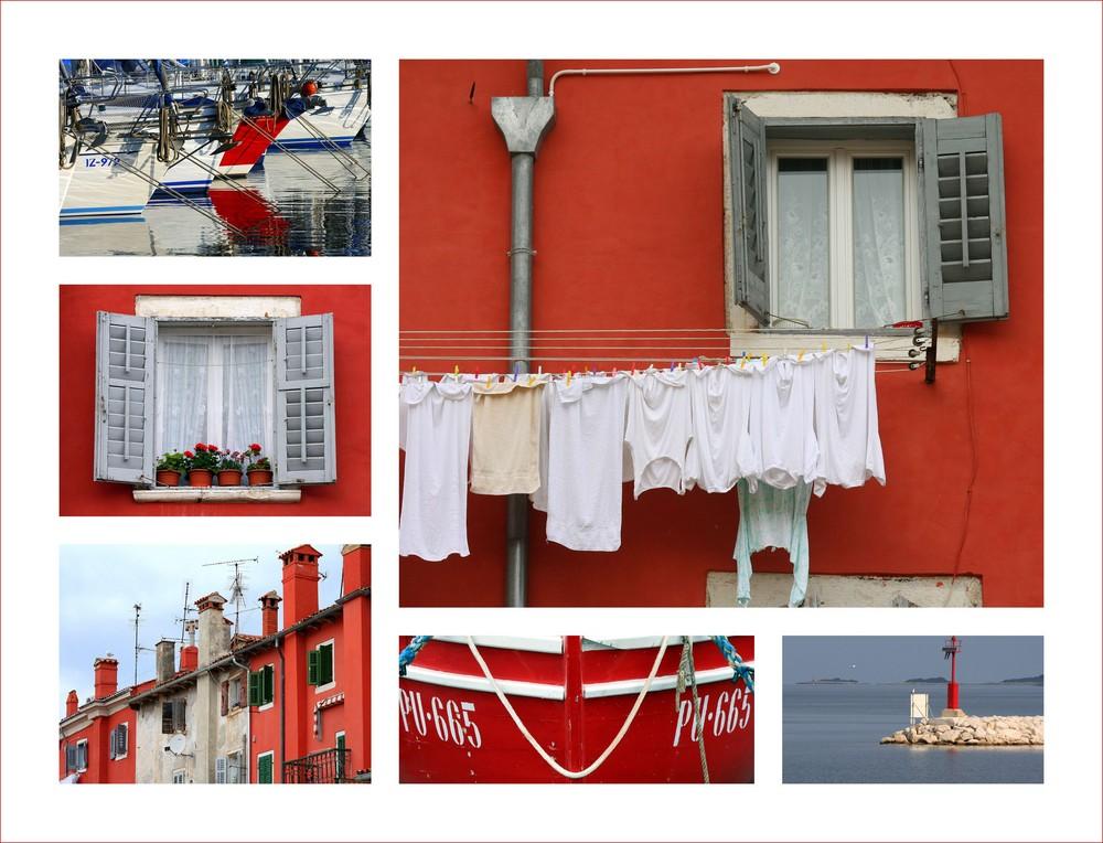 Die Farben Istriens - ROT