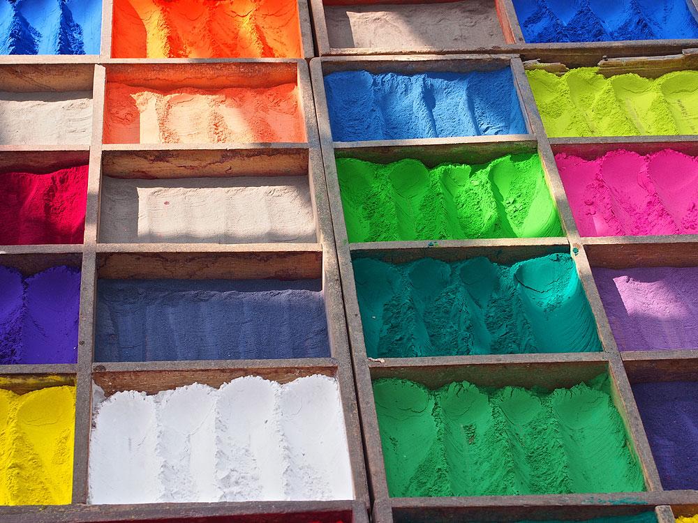 Die Farben Nepals