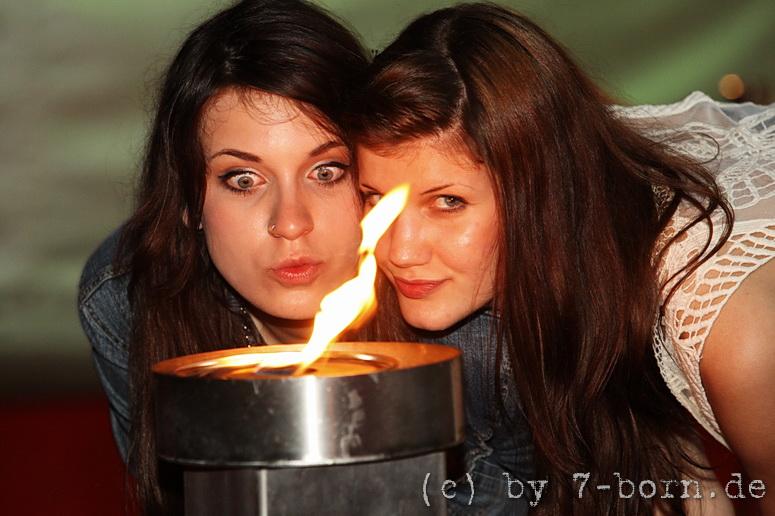die Faszination des Feuers ...