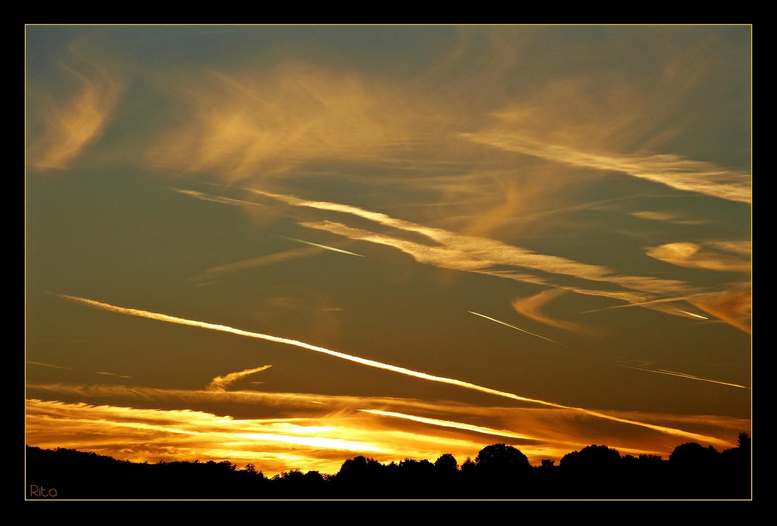 die Faszination Sonnenuntergang...