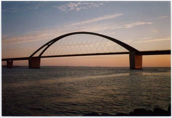 Die Fehmarnsundbrücke