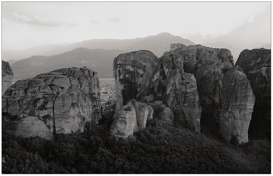 Die Felsen...