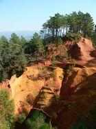 die Felsen von Roussilion