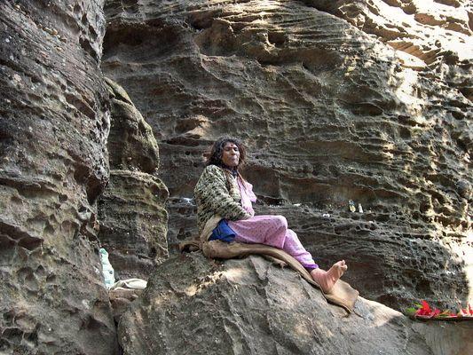 Die Felsenfrau