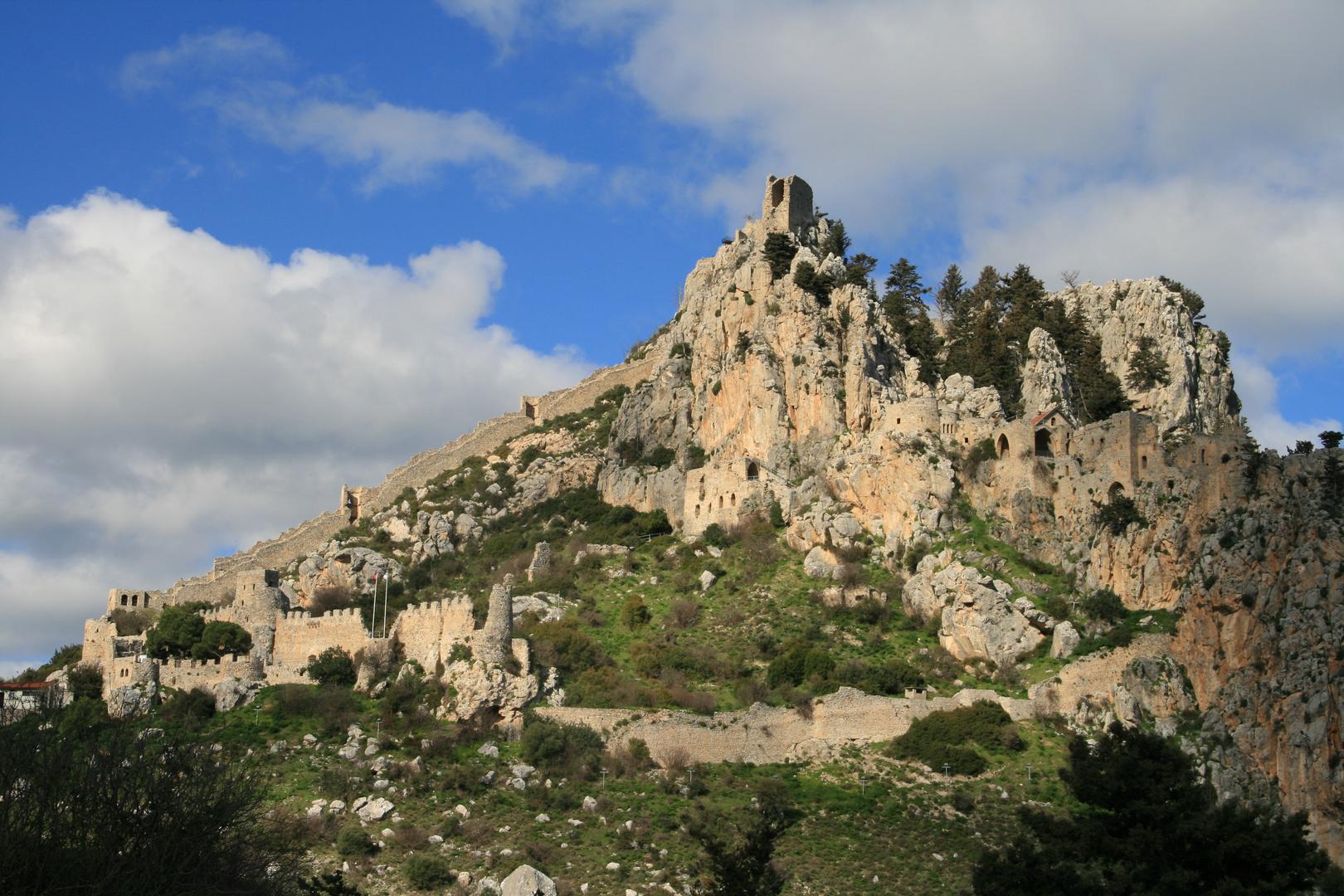 die Festung St. Hilarion auf Nordzypern