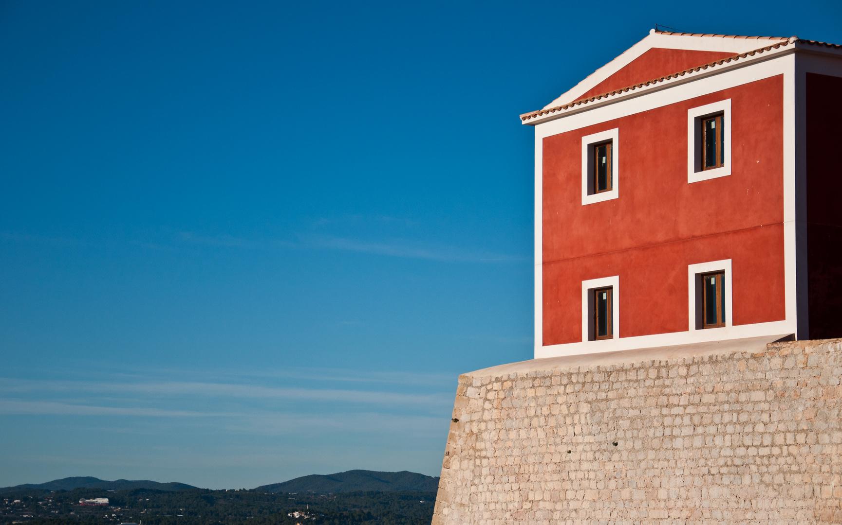 Die Festungsmauer von Eivissa Dalt Vila (III)