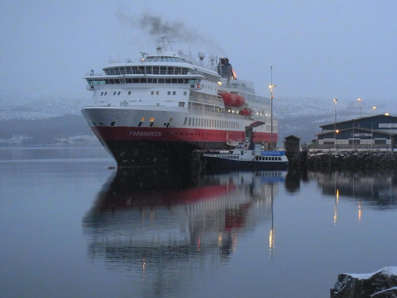 Die Finnmarken in Kirkenes