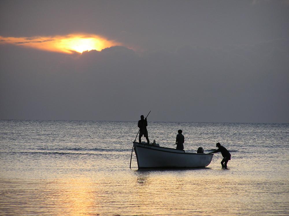 Die Fischer kehren heim