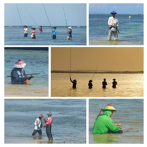...die Fischer von Sanur...