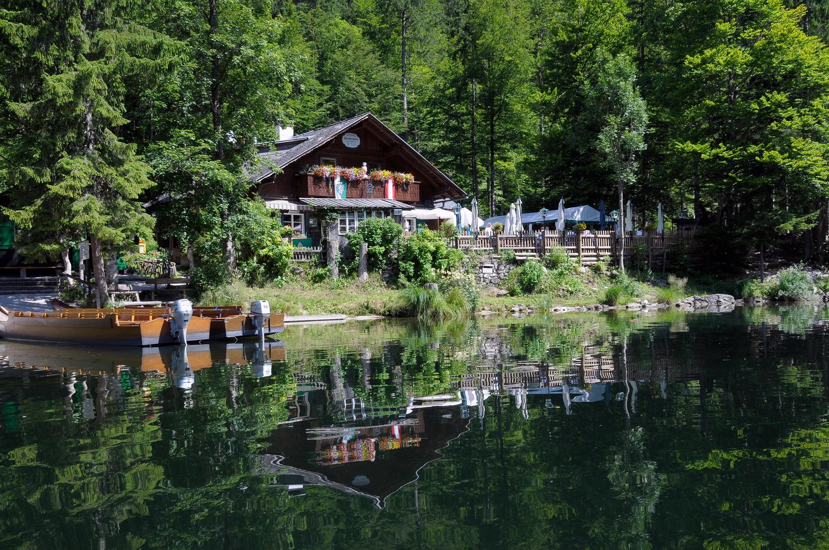 Die Fischerhütte am Toplitzsee