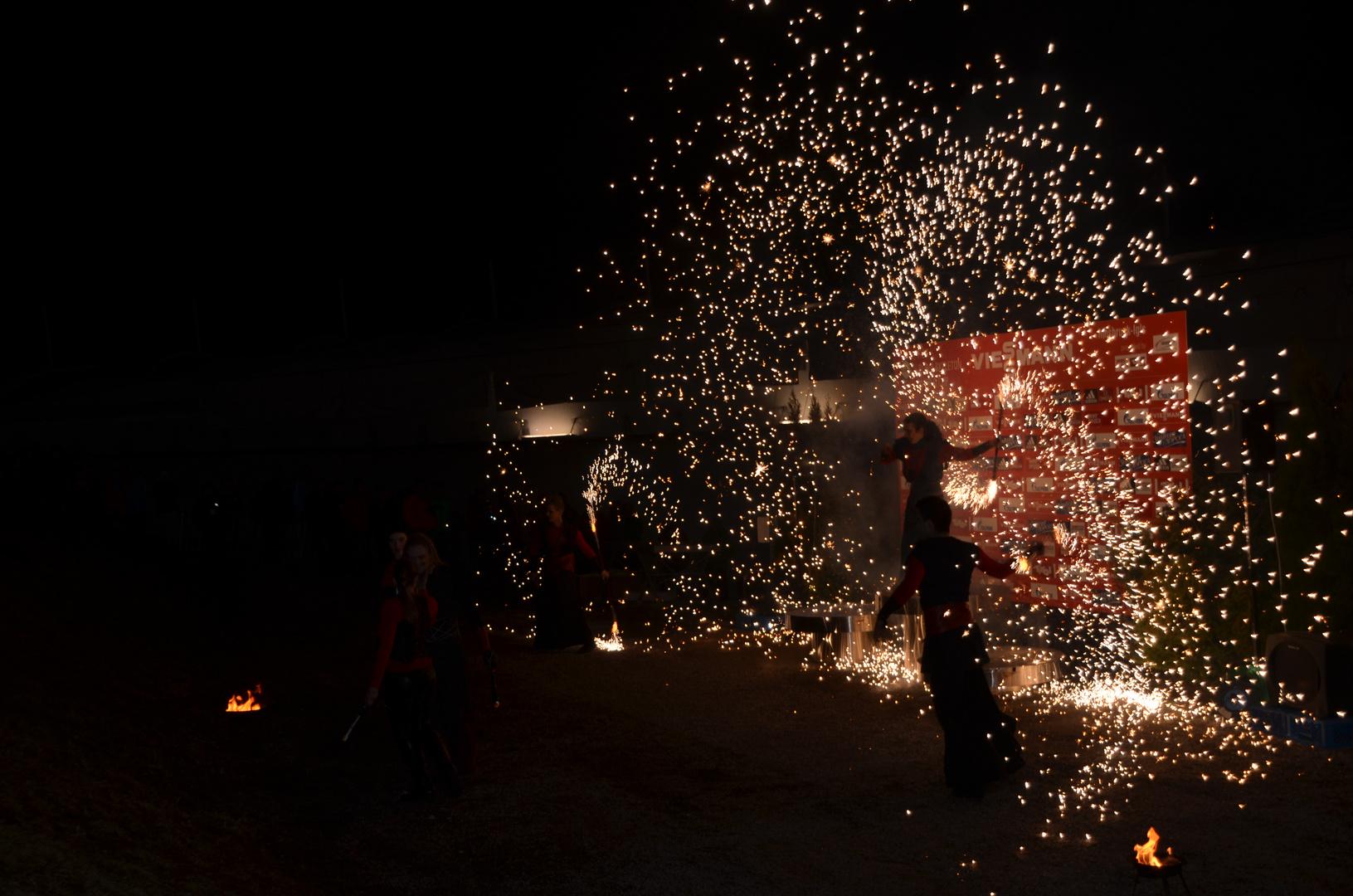 Die Flamme brennt :)