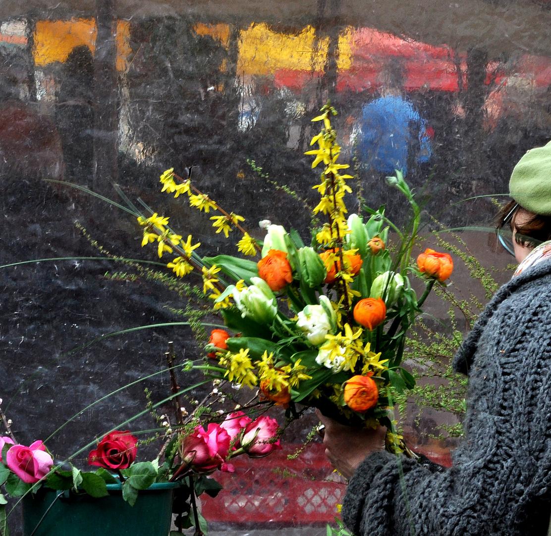 Die Fleuristin und die Farbharmonie