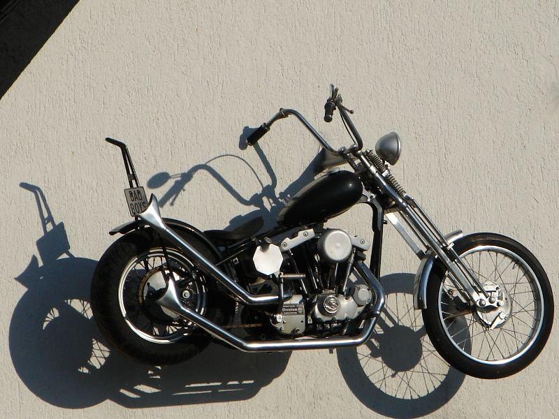 Die fliegende Harley