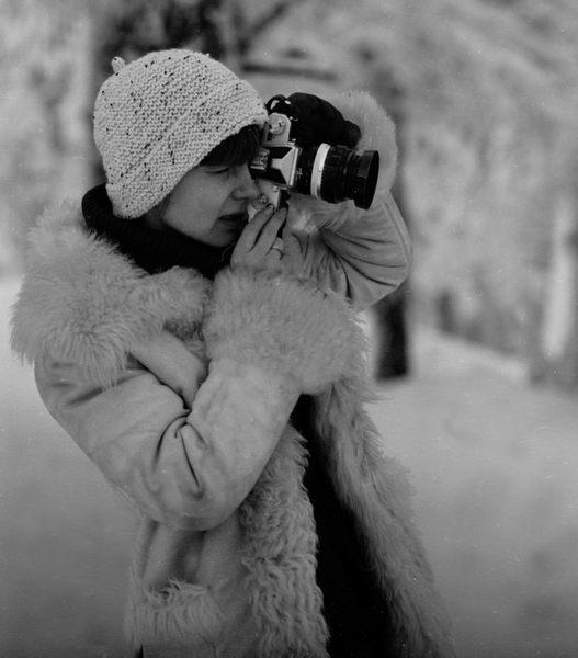 Die Fotografin!
