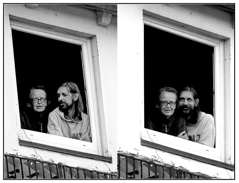 """""""Die fragt ob sie uns fotografieren darf?"""" .. """"Dann soll sie man"""""""