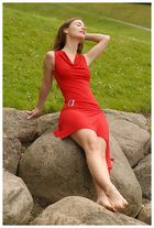 Die Frau in rot # 2