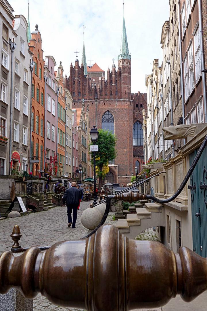 Die Frauengasse in Gdansk