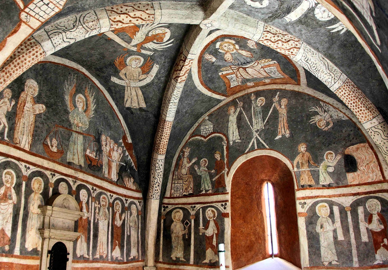 Die Fresken der Vitus Kapelle