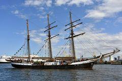 """Die """"Fridtjof Nansen"""" auf der Hanse Sail 2017"""