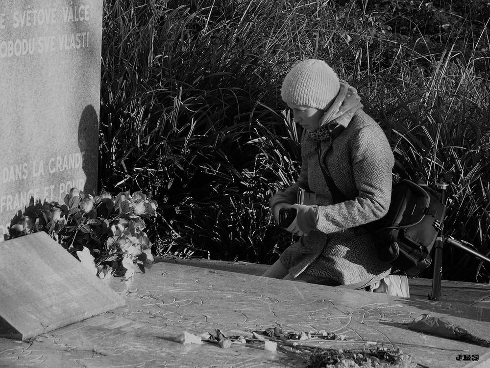 Die Friedhofblümchenknipserin
