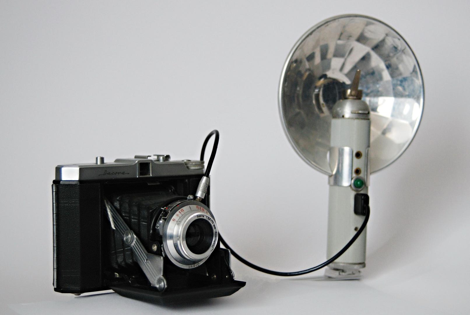 Die frühere Blitzlichtfotografie