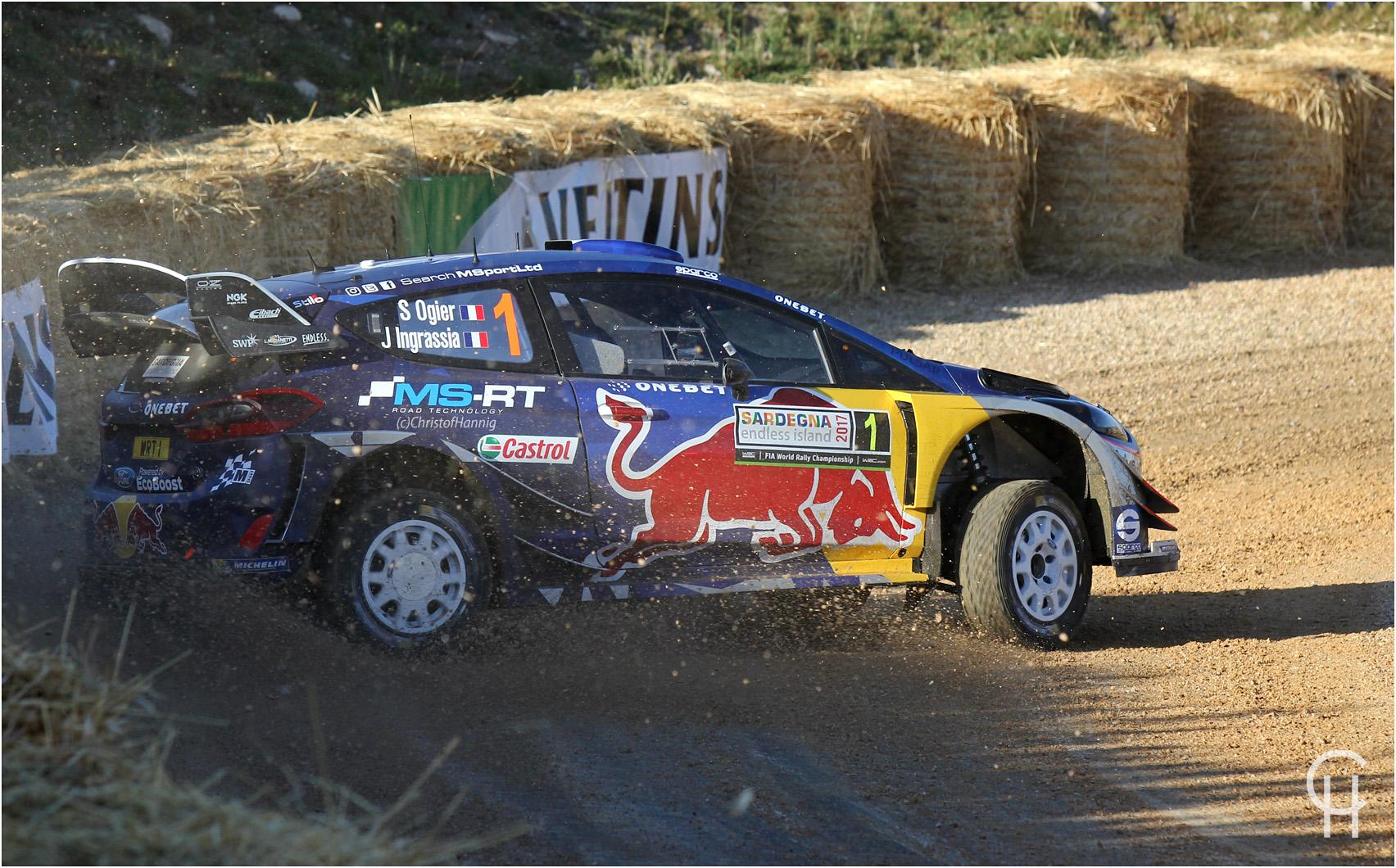 Die fünffachen Weltmeister Sebastian Ogier / Julien Ingrassia im Ford Fiesta WRC