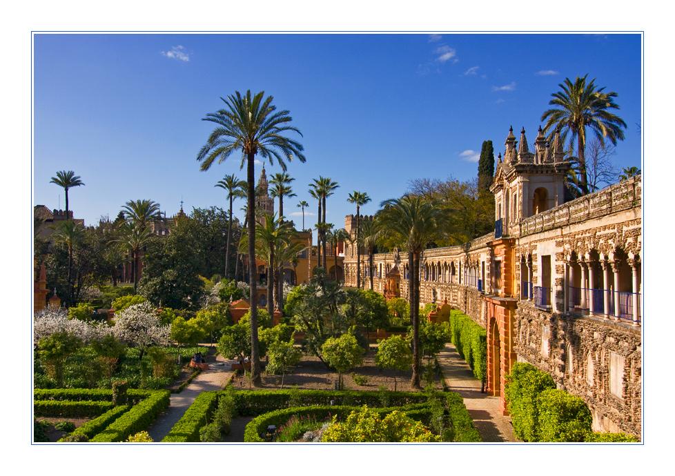 Die Gärten des Real Alcázar
