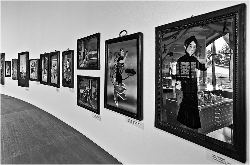 Die Galerie ...