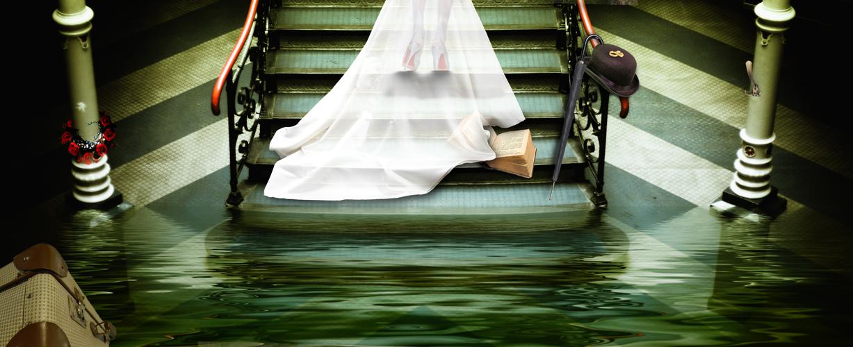 ... die Gatten verlassen das sinkende Schiff