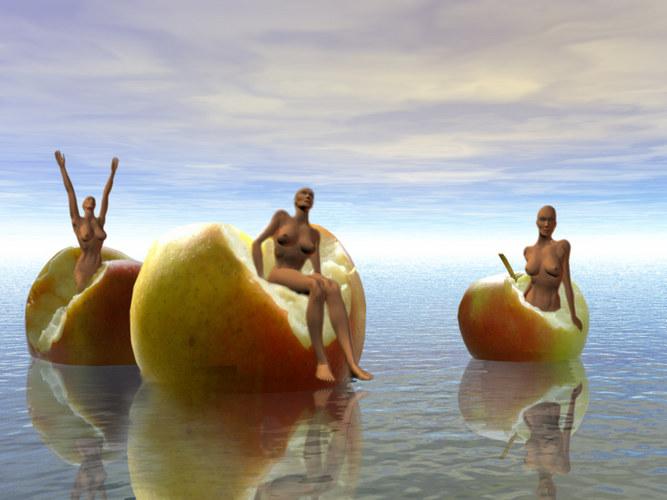 Die Geburt der Evas