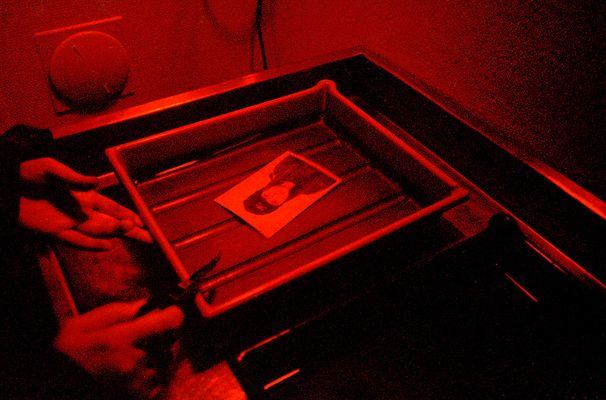 Die Geburt eines Fotos - En bilds födelse - The birth of a photo