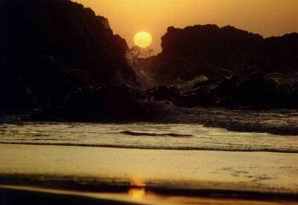 Die Geburt eines Tages, Wild-Coast, Süd-Afrika