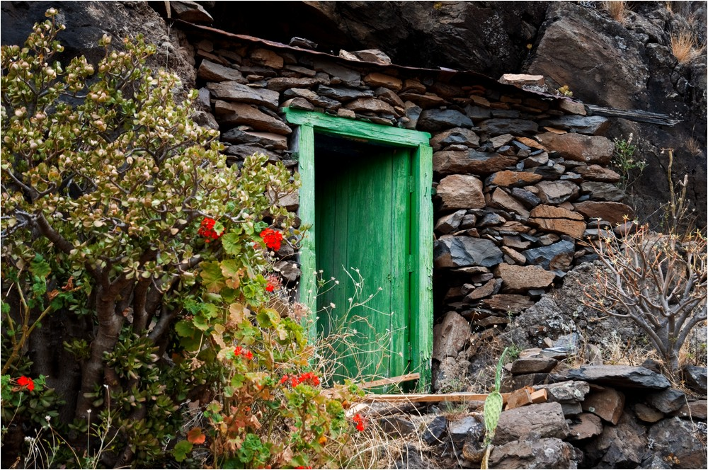 Die geheimnissvolle Tür ...
