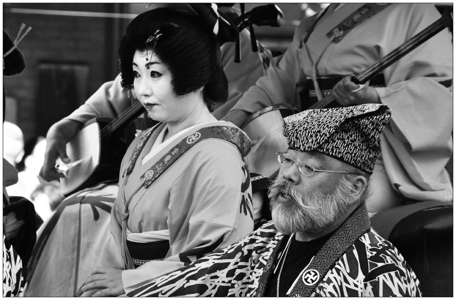 Die Geisha und ihr Kavalier