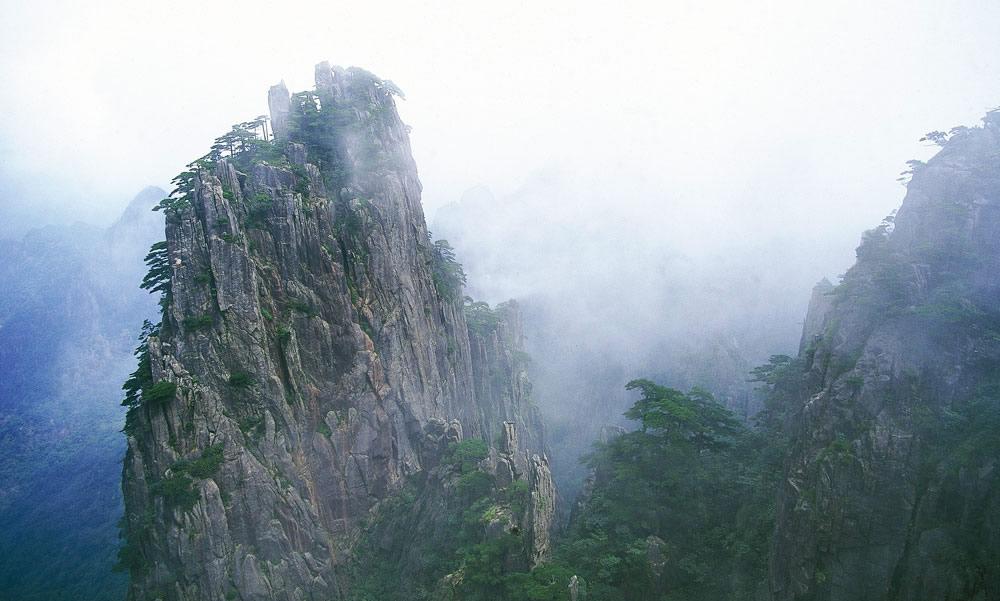 Die gelben Bergen - Huanshan