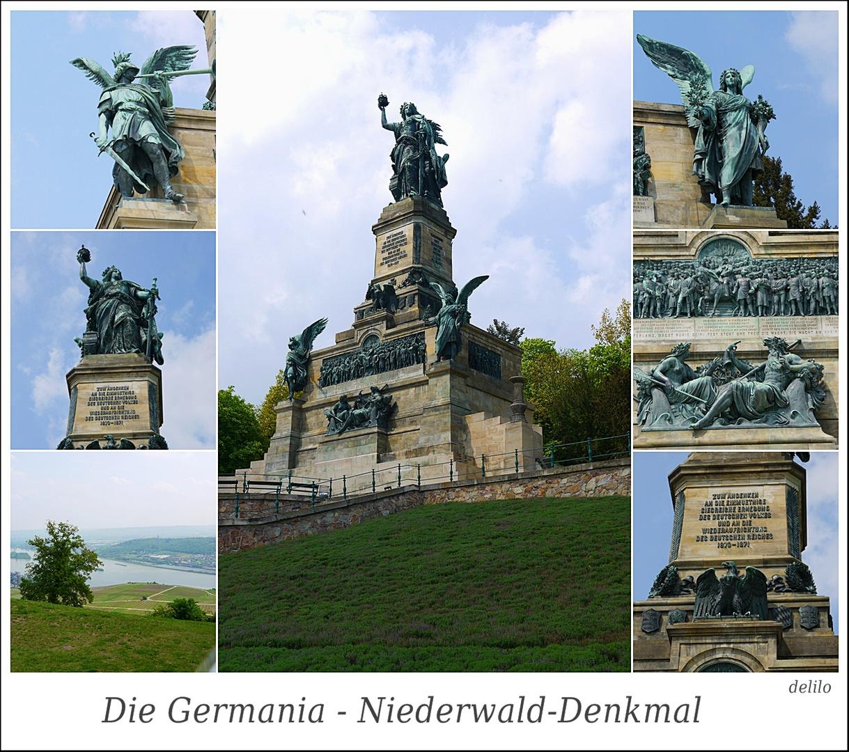 Die Germania - Niederwald-Denkmal