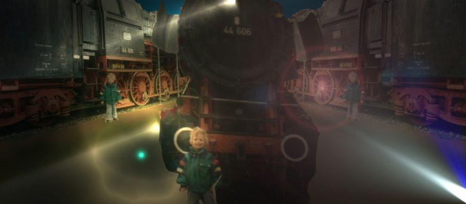 Die Geschichte der Eisenbahn... (Text & Lied)