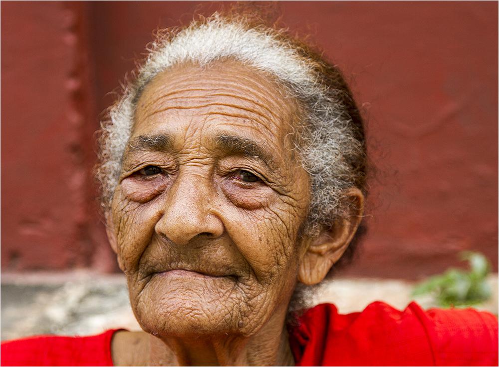 die Geschichte Kubas ist in ihr Gesicht geschrieben