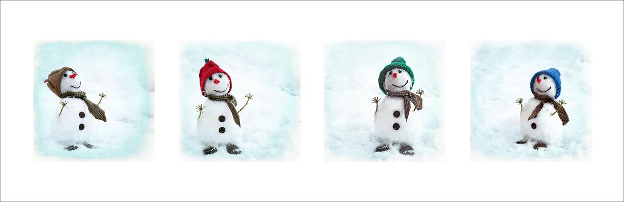 Die Geschichte vom Schneemännchen ...