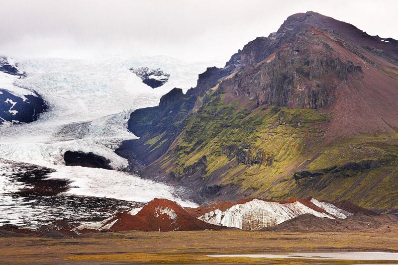 Die Gewalt der Gletscher