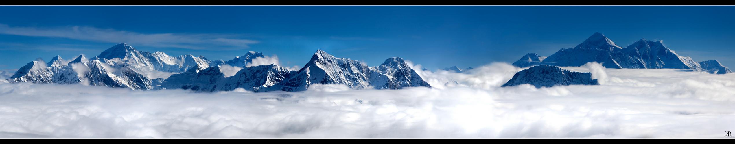 Die Gipfel der Welt