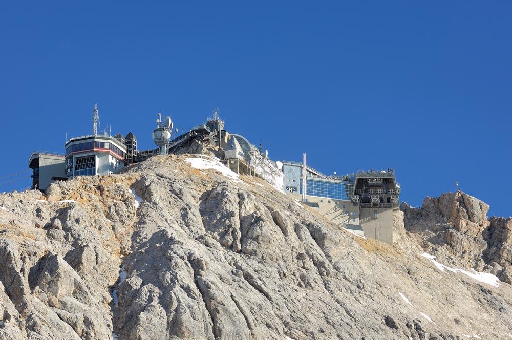 Die Gipfelstation auf der Zugspitze 04