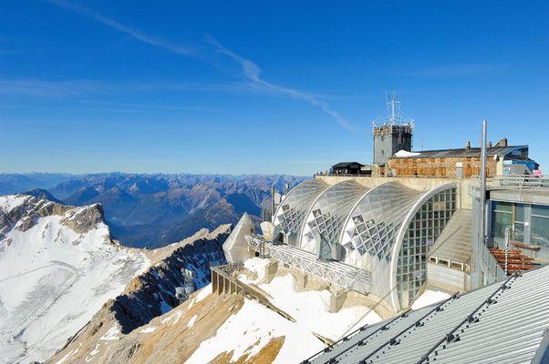 Die Gipfelstation auf der Zugspitze 05