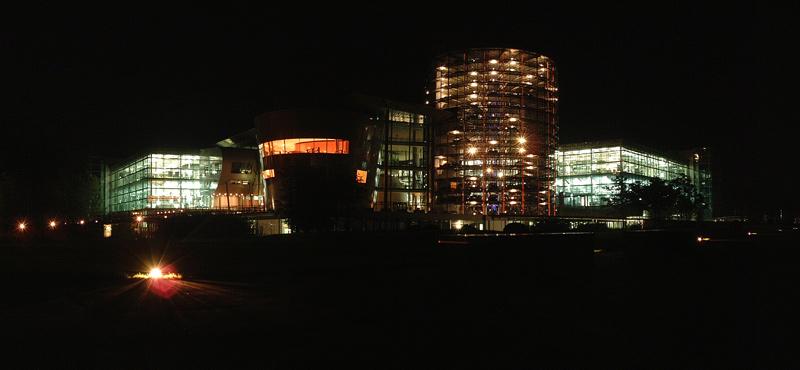 Die Gläserne Fabrik in Dresden