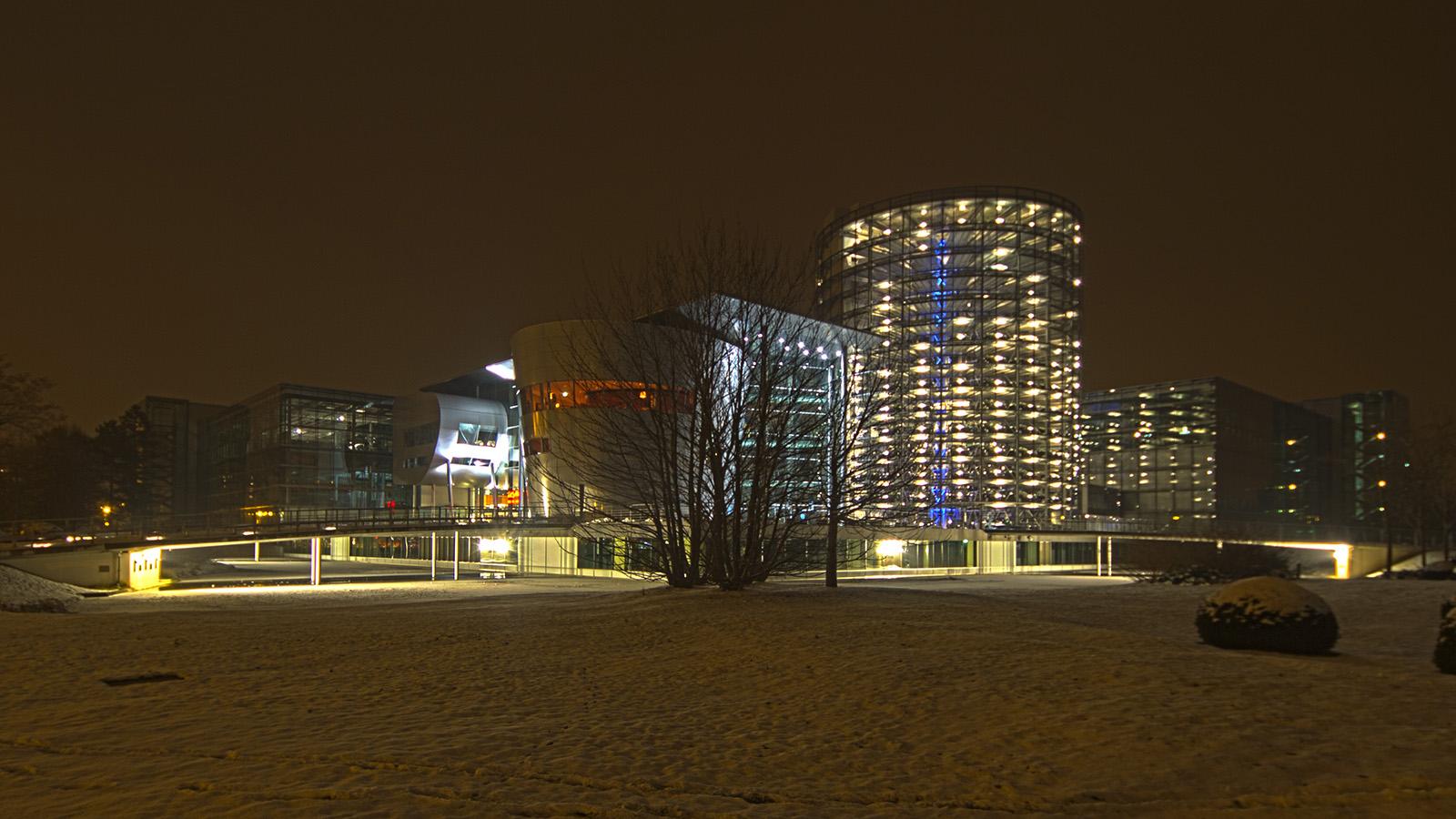 Die Gläserne Manufaktur in Dresden